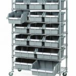 Rolling Bins, Baskets, Carts & Containers